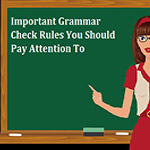 7 Important Rules in English Grammar