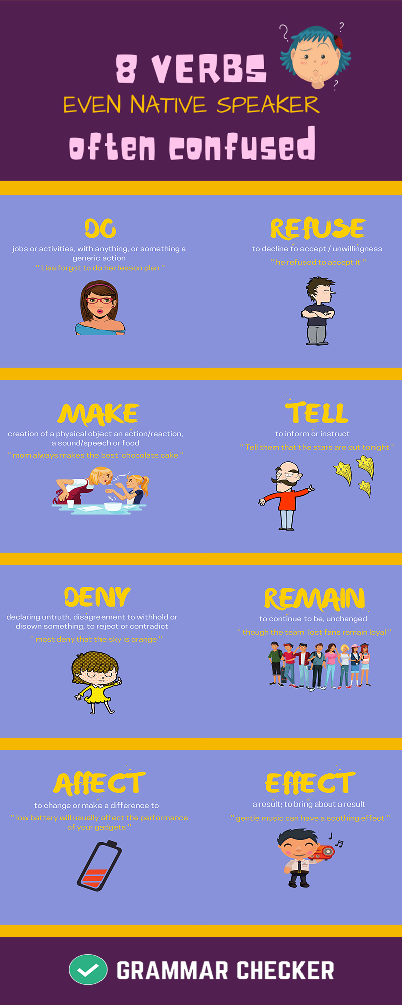 8 Verbs Even Native Speakers Often Confuse