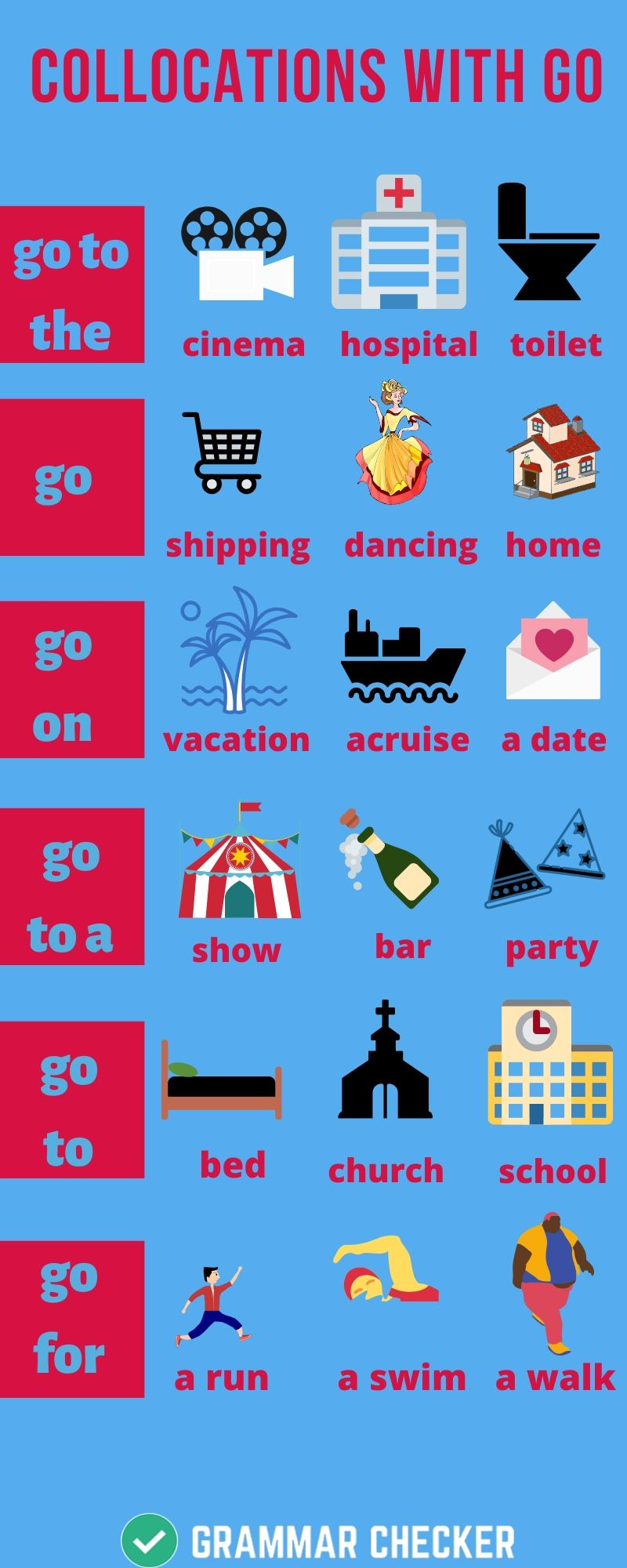Collocations-With-GO